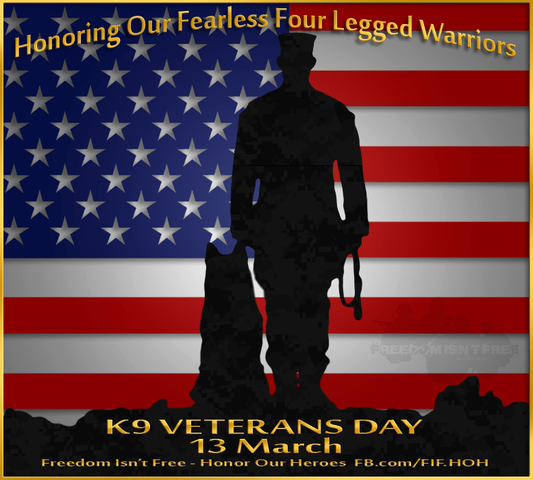 Canine Veterans Day