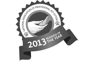 National Association of Professional Pet Sitters 2013 Business of the Year