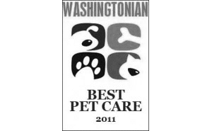 Voted Best in Washingtonian's Guide to Best Pet Care
